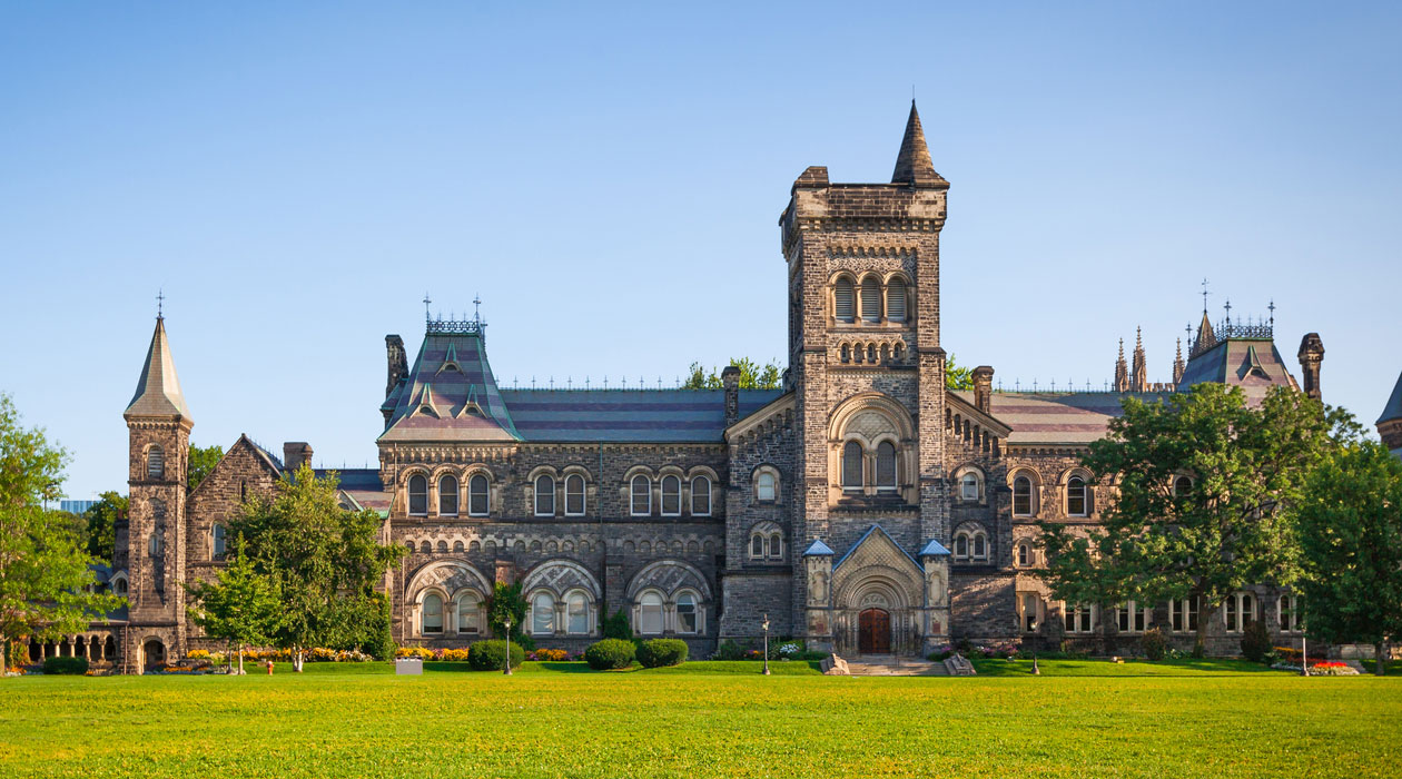 A University of Toronto building